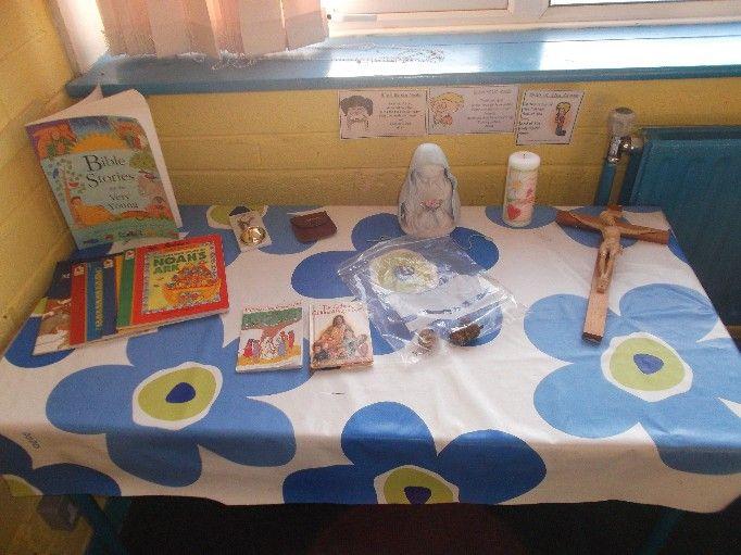 Classroom Prayer Ideas ~ Sacred space classroom display google search religion
