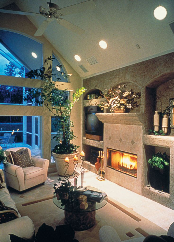 Fireplace Design european home fireplace : 244 best Home Designs with Great Landscaping images on Pinterest
