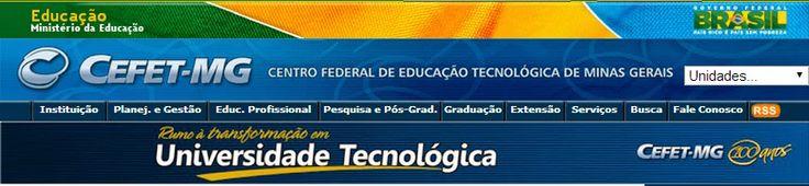 Folha do Sul - Blog do Paulão no ar desde 15/4/2012: CEFET EM TRÊS CORAÇÕES