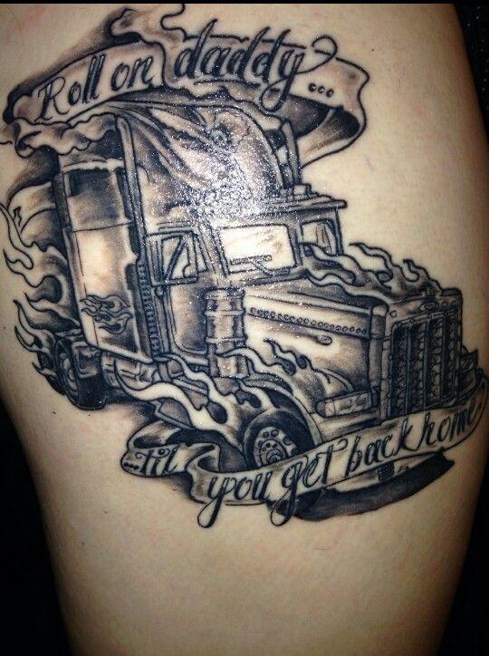 25 best trucker tattoos images on pinterest trucker tattoo future tattoos and ideas for tattoos. Black Bedroom Furniture Sets. Home Design Ideas