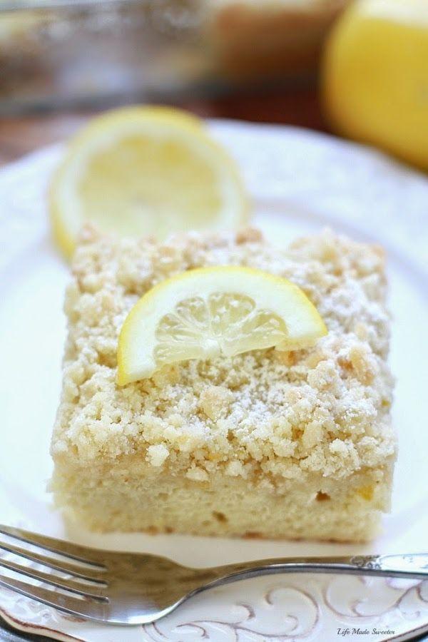 Coffee cake, Streusel topping and Greek yogurt on Pinterest