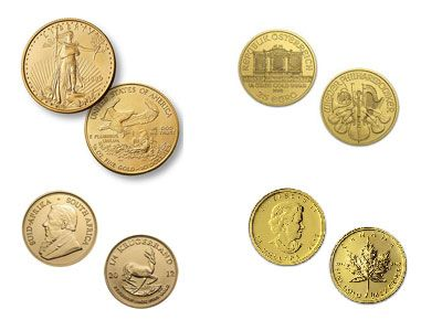 1/4 Ounce Gold Coin, 999.9 fine, Brand and Year of our Choice