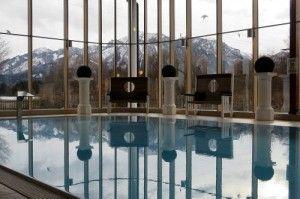 #Füssen #Allgäu und #Wellness pur. Entspannte Momente im Einklang mit der Natur