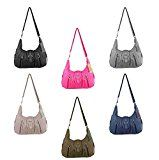 OBC ital-design Damentasche Handtasche Schultertasche Clutch Umhängetasche Borsetta CrossOver: Size/Größe in cm ca.: 40x24x13 cm (BxHxT)…
