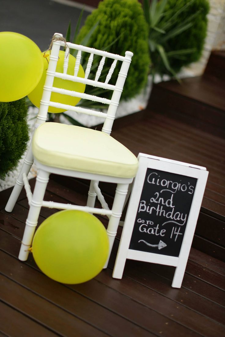It Is Not A Blackout But A Whiteout Theme Party In Celebration Of A Child's Birthday