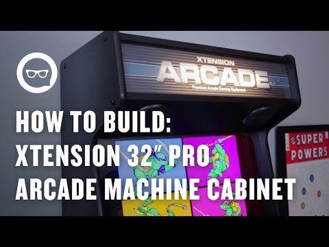 Build Arcade Cabinet