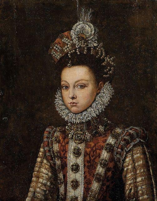 Alonso Sánchez Coello, Portrait of Infanta Isabel Clara Eugenia