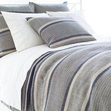Morocco Linen Indigo Duvet Cover by Pine Cone Hill