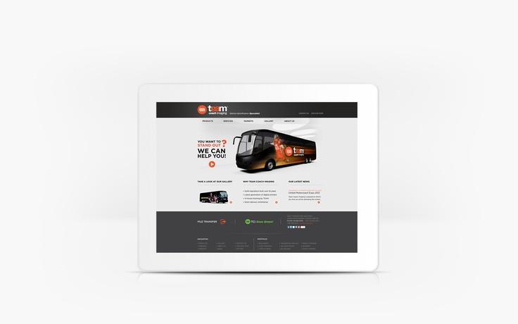 Team Coach Imaging | www.tcimaging.ca | Site Web| Team Marketing • Web • Design