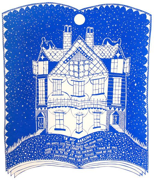 My Darling by Rob Ryan - Screen print