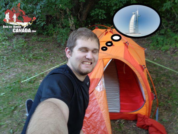 Do I really need to sleep here???!!!   #meme #tent #expedition