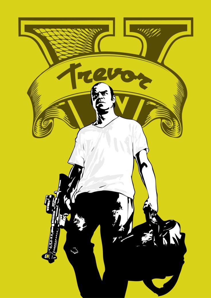 Trevor GTA V #gtav #videogames