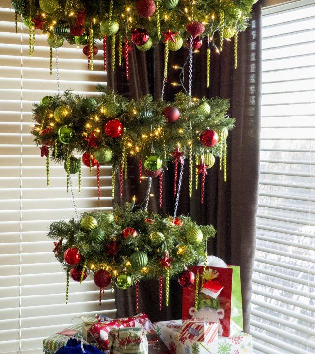 15 Non Traditional Christmas Tree Ideas: 15 Best Upside Down Christmas Trees Images On Pinterest