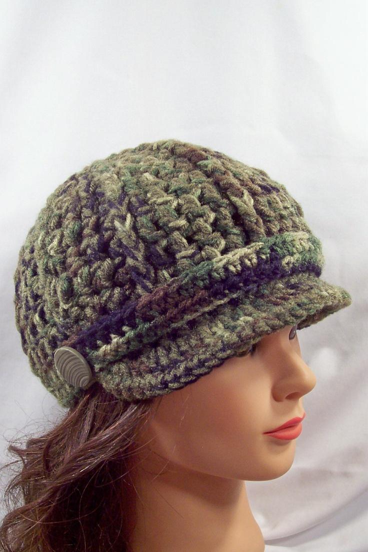 108 best crochet womens hat images on pinterest | knitting