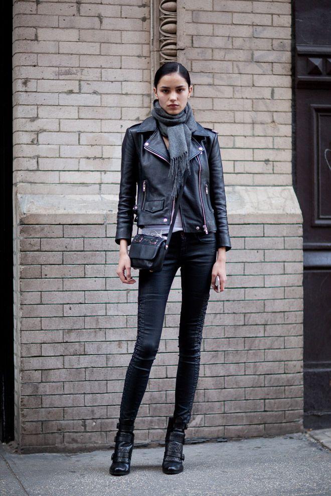 ストリートスナップニューヨーク - Irina sharipovaさん