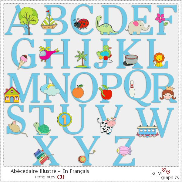 Et voil j ai enfin termin le ab c daire illustr en - L alphabet en francais a imprimer ...