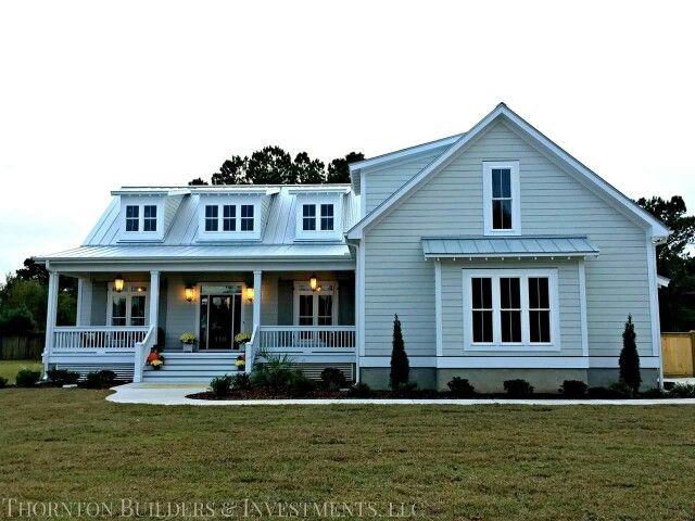 Thornton builders llc the modern farmhouse floor plans for Home plans farmhouse