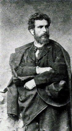 This is a photograph of Nikolaos Gyzis, the Greek Master Painter. My first reaction to this photo was he was so handsome and he had such handsome things in his soul that he could only paint beauty...My impression of this photo is he looks like a philosopher, an alchemist, an Ancient Greek Paedagogos (teacher)...