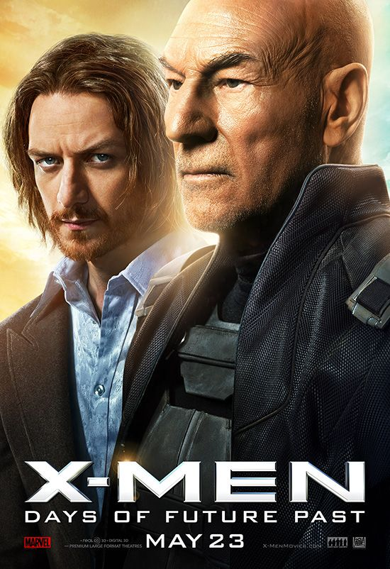 X-Men Days of Future Past Professor X poster