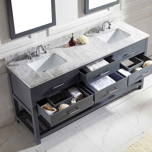 Bathroom Mirrors Usa best 25+ 72 inch bathroom vanity ideas on pinterest | gray and