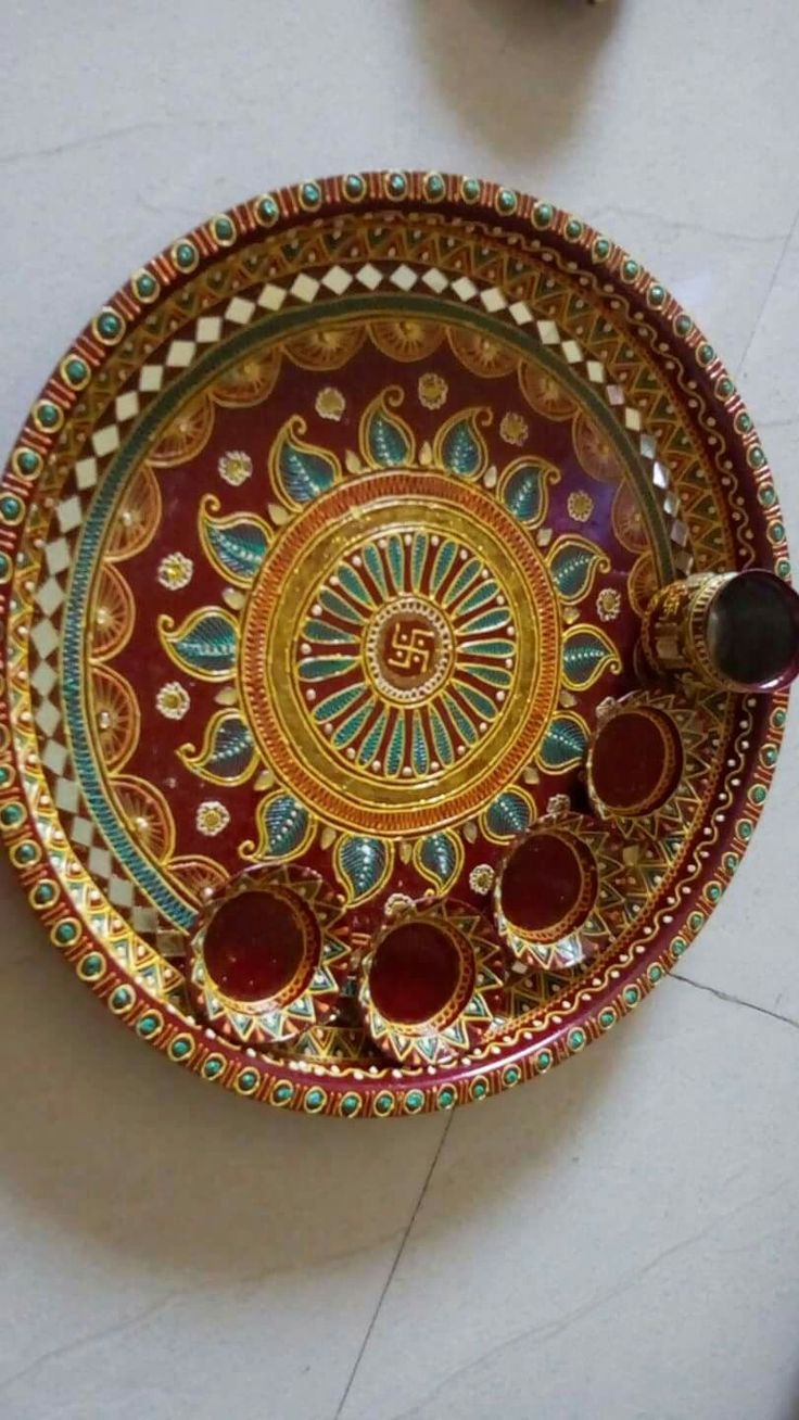 17 Best Images About Pooja Thali On Pinterest Henna