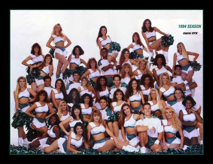 Personally Autographed 1994-1995 Miami Dolphins Cheerleader Team Photo  #football fan #giftideas #cheerleader #autographed #photo #collectors #miami #dolphins #nfl #sports #team #cheerleading #collector #gifts