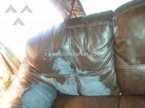 Ashley Furniture - Bought durablend leather couch and loveseat peeling and cracking. Review 387025 Nov 15, Philadelphia, Pennsylvania @ Pissed Consumer