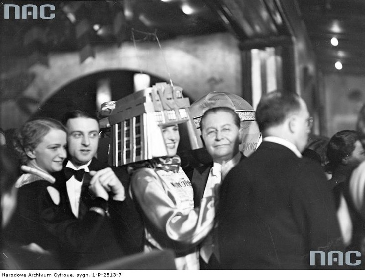 journalists ball in Cracow, 1935