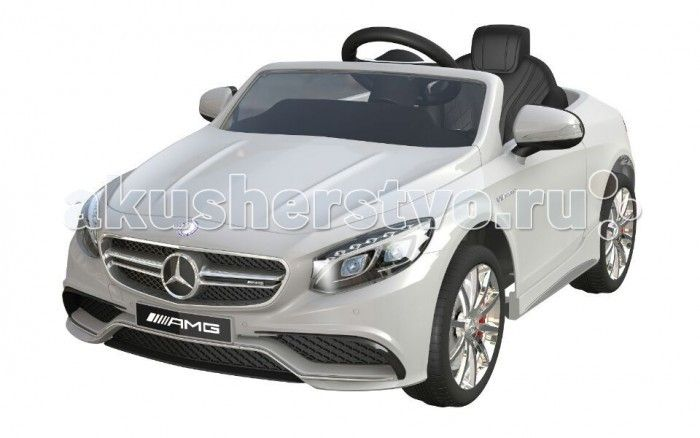 Электромобиль Barty Merсedes Benz S63 AMG  Электромобиль Mercedes-Benz S63 AMG - лицензионная модель популярнейшего детского седана! Именно то что нужно юному автомобилисту. Рекомендован для детей от 3 года до 8 лет.  Максимальная нагрузка: 30 кг.   Каркас изготовлен из металлических элементов, а кузов из пластика, окрашенного глянцевой краской под металлик.  Форма кузова, фар, декор отделки салона, интересные для малышей функции и представительский внешний вид. Электромобиль оснащен…