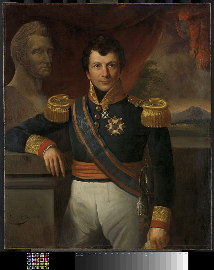 Johannes Graaf van den Bosch (1780-1844). Gouverneur-generaal (1830-33), Raden Sarief Bastaman Saleh, 1836