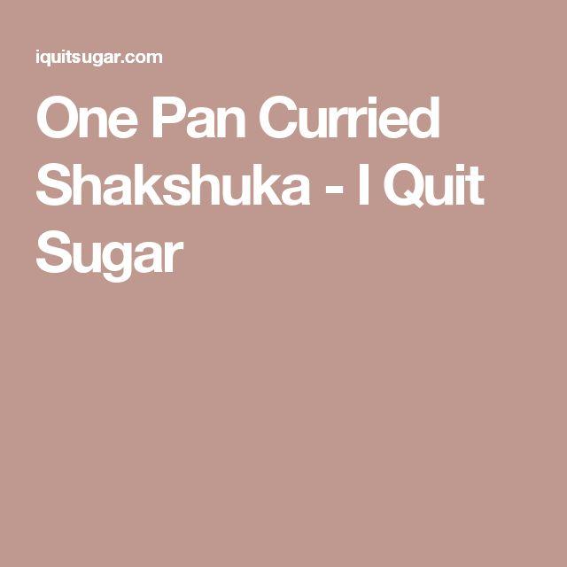 One Pan Curried Shakshuka - I Quit Sugar