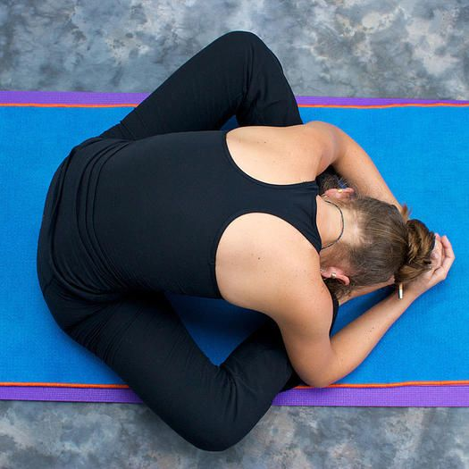 Don't let your hangover drag you down the next day. Here are some great yoga poses to do that will help relax your body and feel better after a night of fun.