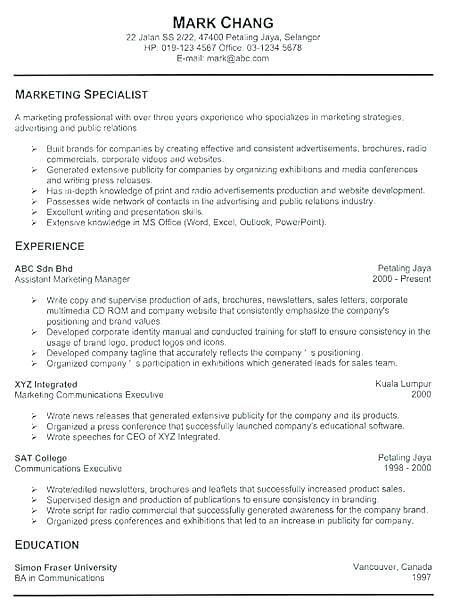 Free Resume Templates Creator 3-Free Resume Templates Resume