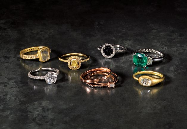 Not your mom's engagement rings....GQ tips on buying the right Engagement Ring