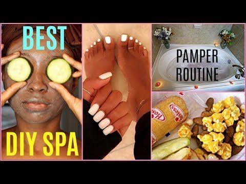 DIY Spa Night Pamper Routine   WINTER NIGHT ROUTINE 2018 – YouTube Health , Adol…