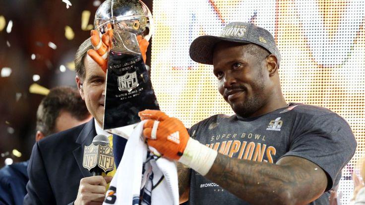 SUPER BOWL 50 MVP VON MILLER 58!!! Nfl season, Broncos