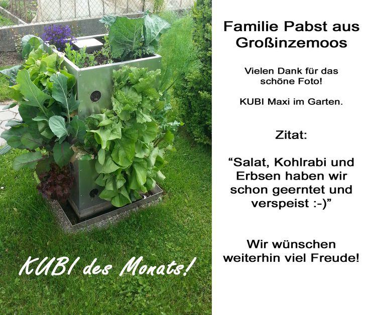 Fresh KUBI des Monats Familie Pabst Herzlichen Gl ckwunsch KUBI CongratulationsGarden