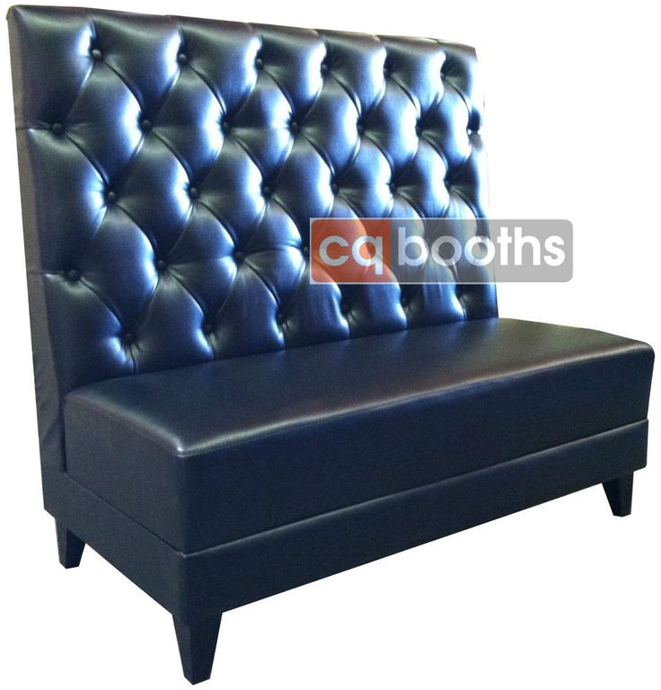 Restaurant Booth Furniture, Diamond or Tufted Back Design, Custom Booth Seating
