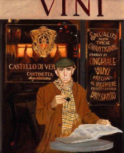 Man At The Café