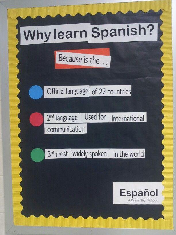 Spanish 1 Classroom Decorations : Best spanish bulletin boards ideas on pinterest