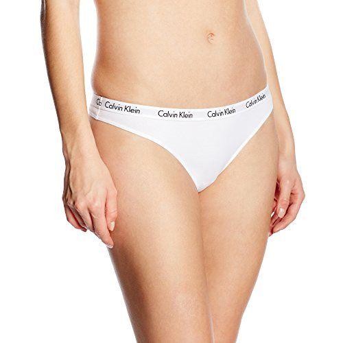 Calvin Klein - String Femme - blanc - 36 Calvin Klein Un... https