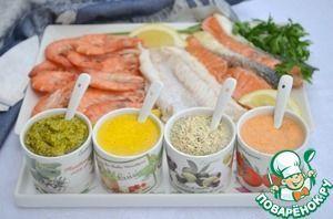 Четыре простых соуса для рыбы и морепродуктов