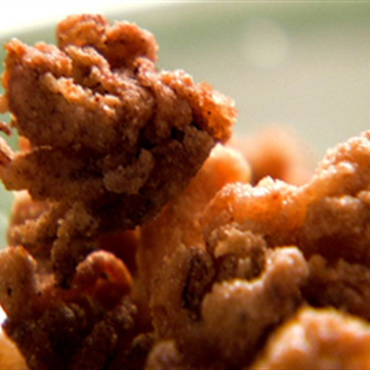 Try this Crispy squid with garlic mayonnaise recipe by Chef Nigella Lawson. This recipe is from the show Nigella Express.