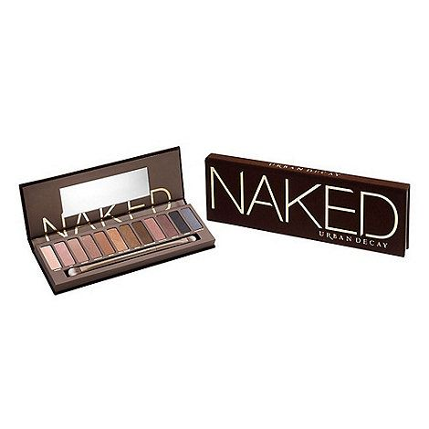 THIS is how Urban Decay does neutral! Far from boring, Urban Decay's Naked Palette features a shade range that runs from the palest champagne to the grittiest gunmetal. Not just
