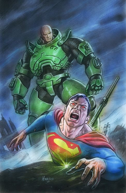 Superman And Lex Luthor Hope they Use this in The New 52