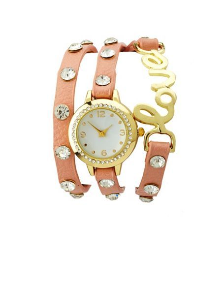 Scripted Love Wrap Watch: Charlotte Russe