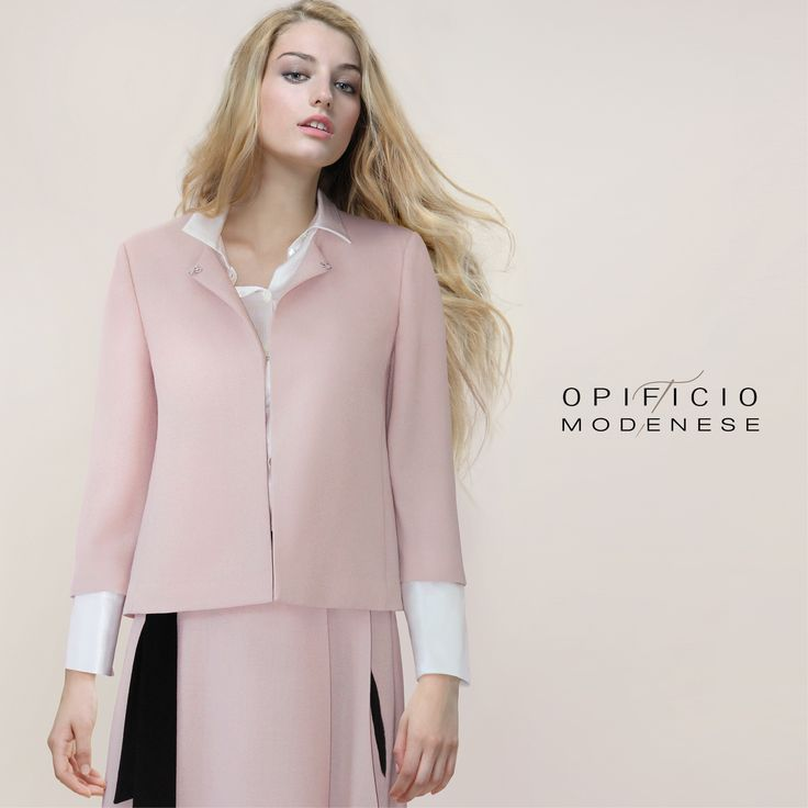 Pink jacket Proudly Made in Italy