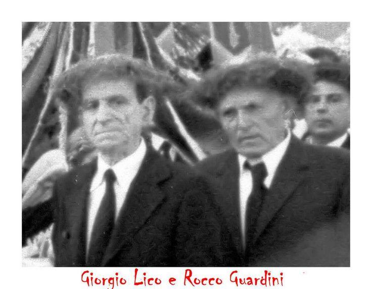 Giorgio Lico e Rocco Guardini