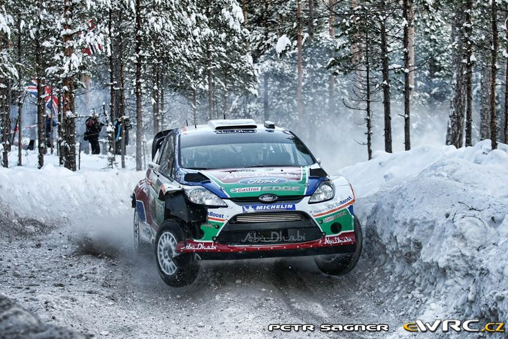 2011 Swedish: Jari-Matti Latvala, Ford Fiesta RS WRC, 3rd