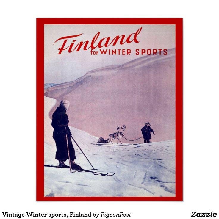 Vintage Winter sports, Finland